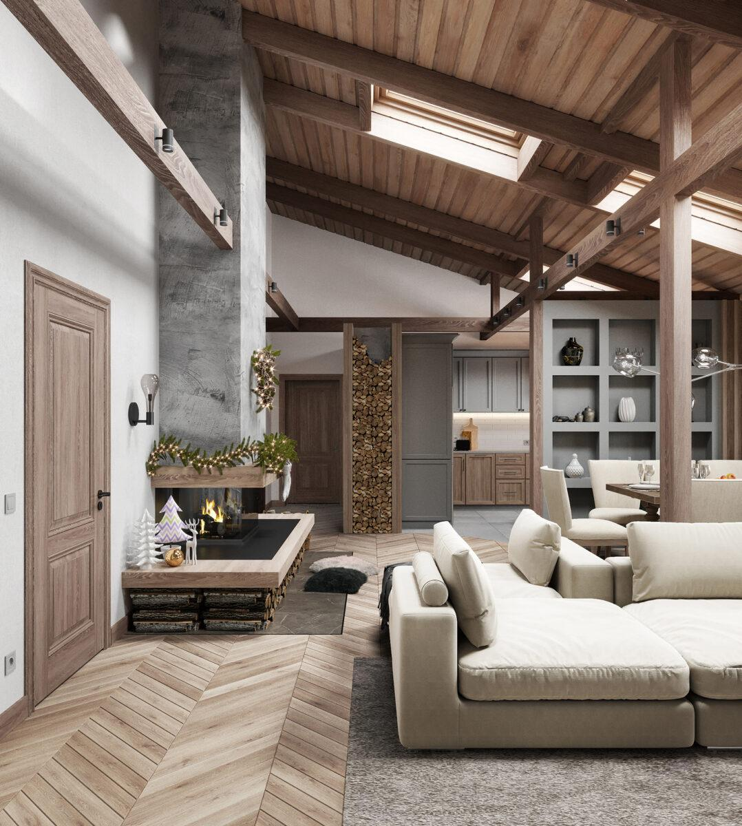Apartment «Modern Chalet»