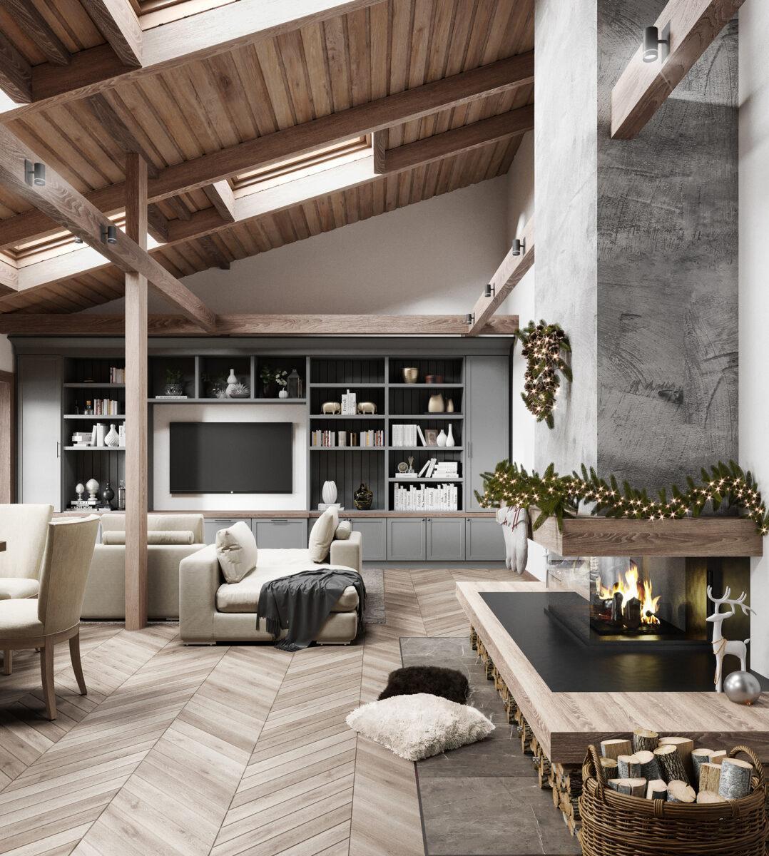 Апартаменти «Modern Chalet»